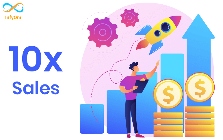 How to increase 10 X sales