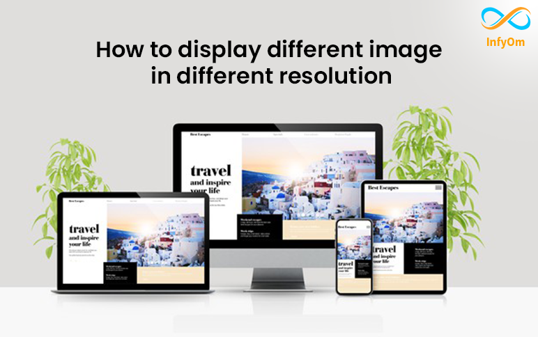 How to display responsive image in different devices