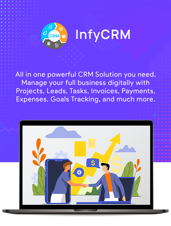 InfyCRM Features