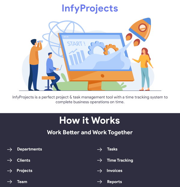 InfyProjects Hero Image